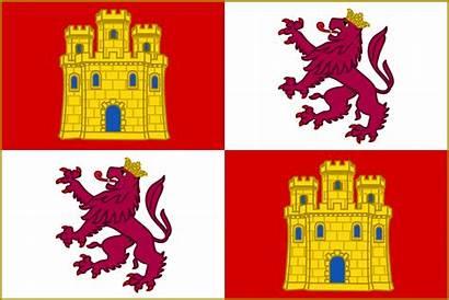 Castille Royal Banner Spain Svg Crown Flag