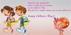 Happy Children's Day Facebook Status & Whatsapp Messages 2017