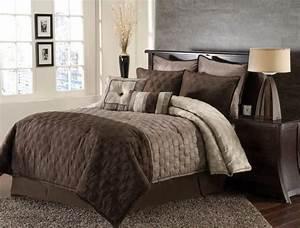 8pc, Hammel, Taupe, Brown, Comforter, Set, Size, King