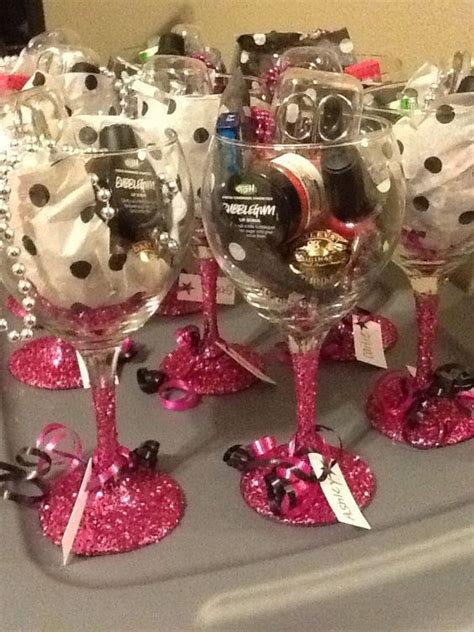 wine glass favors 20 diy christmas party ideas for