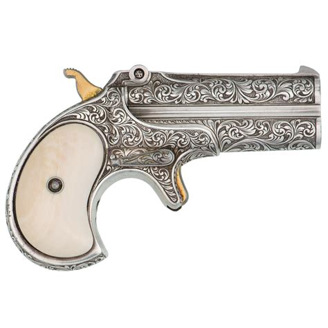 engraved type iii remington model  double derringer