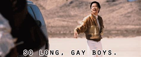 Mr Chow Gay Meme - ken jeong hangover gif find share on giphy