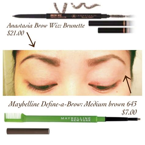 brow wiz 21 00 vs maybelline define a brow