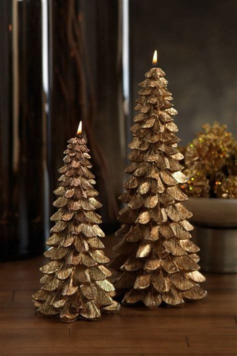 holiday decorating ideas  christmas tree candles