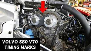 Timing Marks Volvo S80 V70 T4 Engine 1 6 Timing Belt