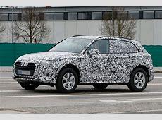 2017 Audi Q5 Shows New Design Details in Latest Spyshots