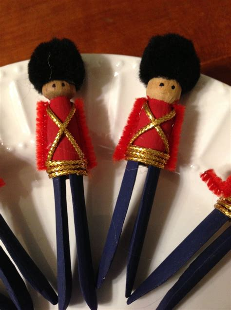 toy soldier craft for kids clothespin soldier ornaments and other trash to
