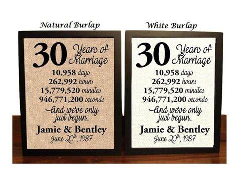 30th Wedding Anniversary 30 Year Wedding Anniversary 30th
