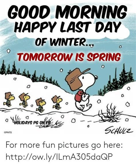 good morning happy day winter tomorrow spring holidays pg