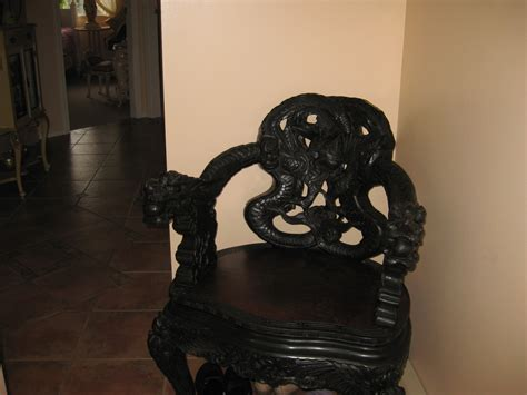Chinese Dragon Chair Antique Appraisal Instappraisal - Dragon Chair - Yamsixteen