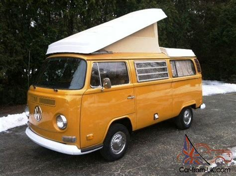 1972 Vw Type 2 Westfalia Bus