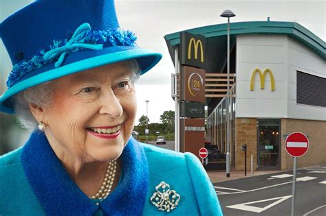 Queen Elizabeth owns her own McDonald's, and it's fittingly regal