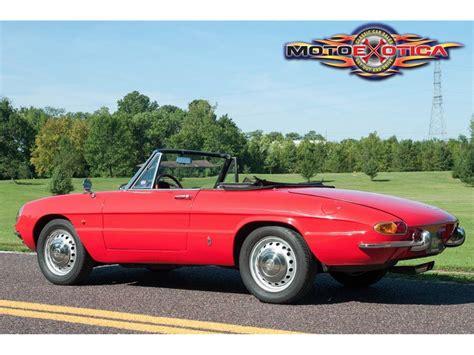 1967 Alfa Romeo Duetto For Sale by 1967 Alfa Romeo Duetto For Sale Classiccars Cc 791579