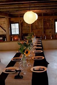 25+ best Black Tablecloth Wedding ideas on Pinterest