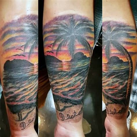 latest sunset tattoos ideas designs  perfect