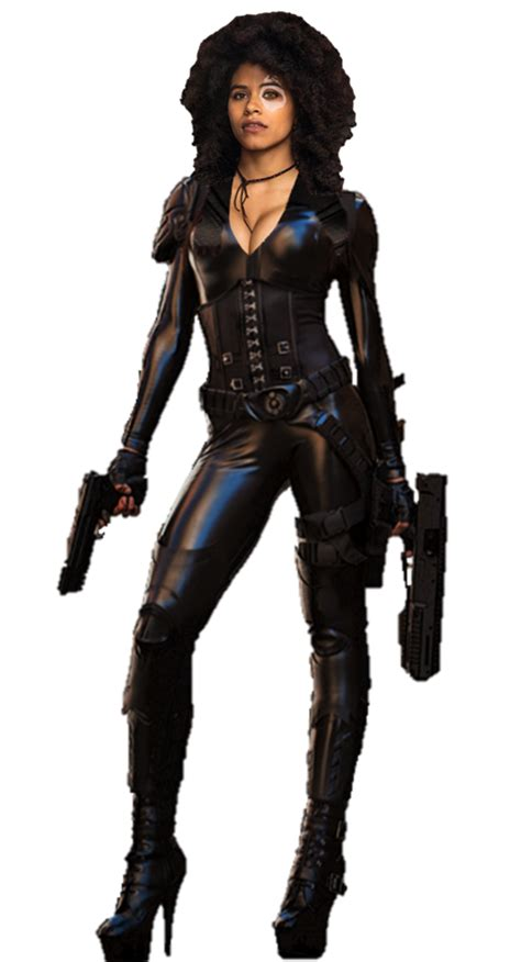 actress playing domino in deadpool 2 domino deadpool 2 png by gasa979 comics pinterest