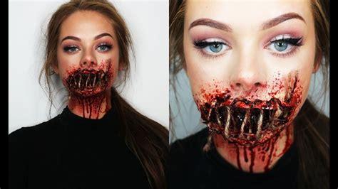 foto de SEWED SHUT MOUTH SFX Makeup YouTube Maquillaje