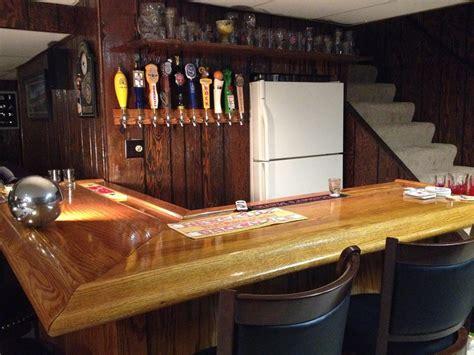 diy basement bar ideas diy how to build your own oak home bar Diy Basement Bar Ideas