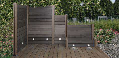Sichtschutz Garten Wpc by Sichtschutz Holz Stecksystem Denvirdev Info