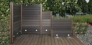 Terrassendielen Günstig Kaufen : wpc sichtschutzzaun online g nstig kaufen ~ Frokenaadalensverden.com Haus und Dekorationen