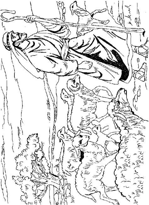 Kleurplaat Bijbelse Figuren by Bijbelse Kleurplaten Regenboog