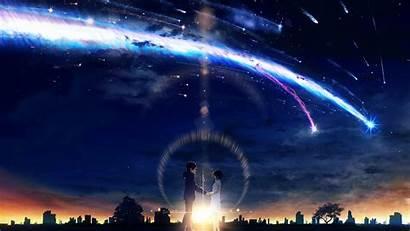 Taki Mitsuha Anime Wallpapers Background Wall