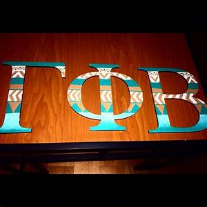 gamma phi beta letters sorority gamma phi beta With sorority wood letters