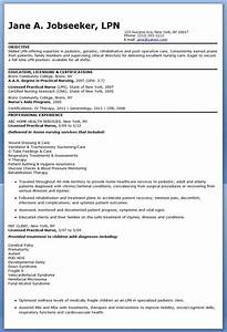 sample lpn resume objective creative resume design With resume templates for lpn nurses