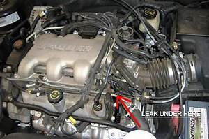 I Have A 2002 Buick Century  3 1 Liter Engine  That Leaks Coolant From The Rear Of The Engine