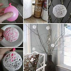 Decoration Noel Diy : 36 easy and beautiful diy projects for home decorating you can make ~ Farleysfitness.com Idées de Décoration