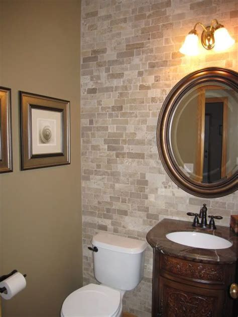 Half Bathroom Tile Ideas by Impress Your Visitors With These 30 Half Bathroom