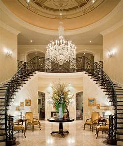A Look At Some Grand Foyers From Houzz.com | Homes of the Rich