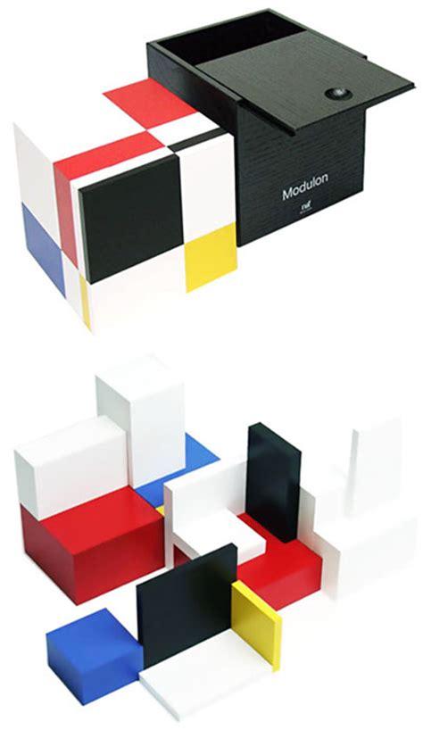 naef modulon minimal wooden art architecture puzzle toy