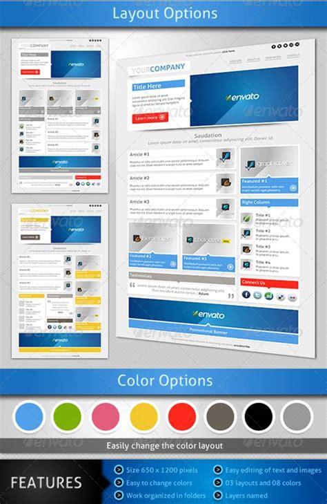 smart customizable email  newsletter templates entheosweb