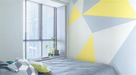 Merk Cat Tembok Untuk Motif tips mudah ciptakan dinding kamar gaya tiga dimensi