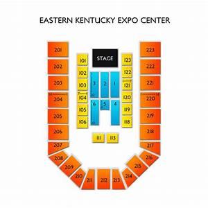 Vivid Seats Seating Chart Eastern Kentucky Expo Center Seating Chart Vivid Seats