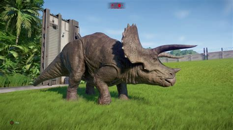 Every Triceratops Skin In Jurassic World Evolution