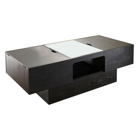 These coffee tables are a contemporary style collection of glass and stainless steel occasional furniture. How To Fake An Organized Space: Choosing The Right Apartment Furniture For Small Spaces - Apartminty