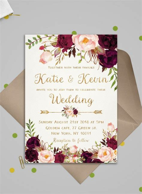 top  wedding invitations  love  etsy