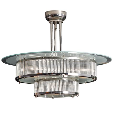 atelier petitot deco glass rods chandelier
