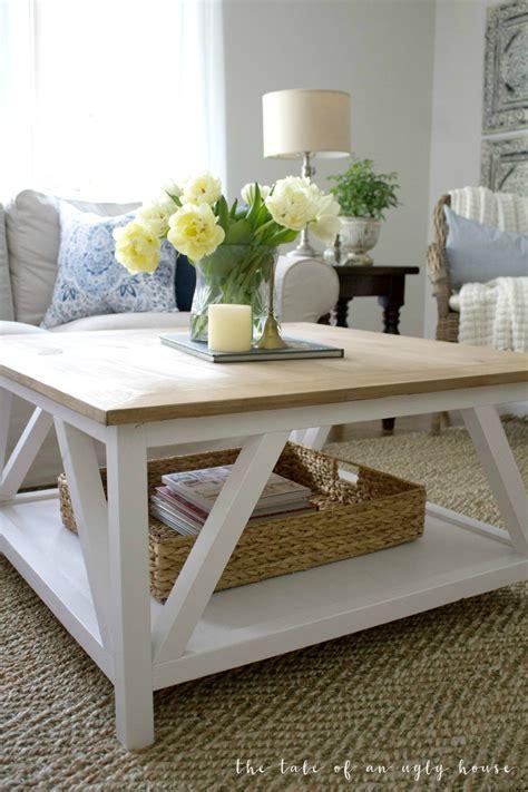 square farmhouse coffee table diy modern farmhouse coffee table sincerely marie designs