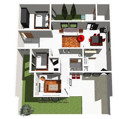desain rumah sederhana ukuran     desain denah