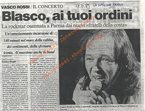 vasco rossi international fansite