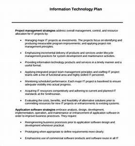 Sample technology plan template 9 free documents in pdf for Information technology procedure template