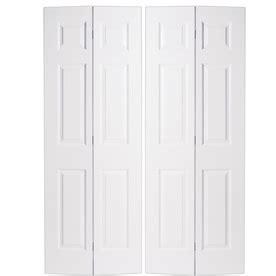 shop reliabilt hollow 6 panel bi fold closet interior