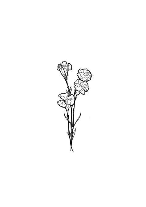 Simple flower tattoo design | Line work tattoo designs (@anna.tattoos)