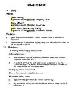 Excel Construction Schedule Template Novation Agreement 7 Free Pdf Doc