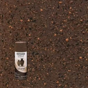 rust oleum american accents 12 oz mineral brown textured finish spray paint 238324 the