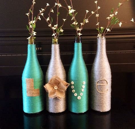 bottle l ideas 25 best ideas about yarn wrapped bottles on