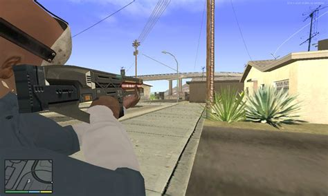 Gta San Andreas Railgun Gta V To Gta Sa Mod